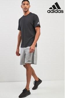 شورت فليس مقلم 3 أشرطة من Adidas
