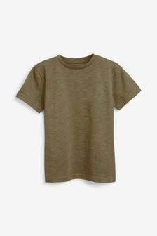 T-shirt à col ras du cou (3-16 ans)