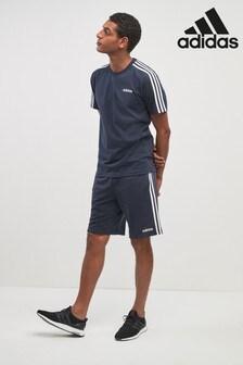 adidas Shorts aus Fleece mit 3 Streifen