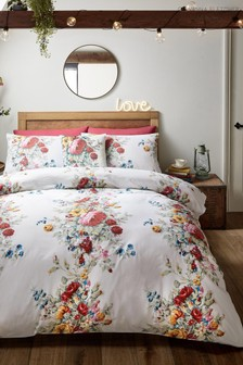 Giovanna Fletcher Exclusive To Next Whimsical Floral Duvet Cover and Pillowcase Set