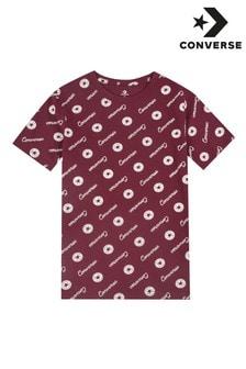 Camiseta de niño con estampado característico Chuck de Converse