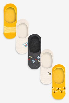 Invisible Socks Five Pack