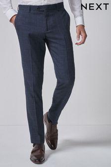 Károvaný oblek: nohavice