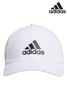adidas Golf White Badge Of Sport Stretch Cap
