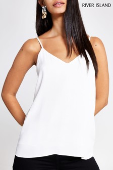 River Island Ivory Kaitlyn Strappy Camisole