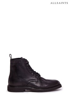 AllSaints Indianna Lace-Up Calf Boots