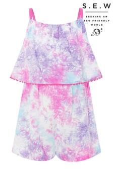 Monsoon S.E.W Tie Dye Playsuit