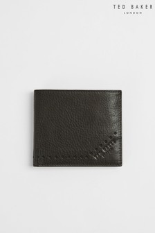 Ted Baker Rope Brogue Leather Bifold Wallet