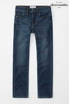 Abercrombie & Fitch Dark Blue Jeans