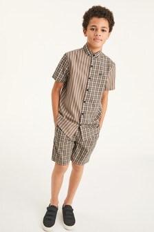 Bawełniana bluzka z krótkim rękawem (3-16 lat)