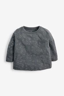 Tričko s potlačou s dlhými rukávmi  (3 mes. – 7 rok.)