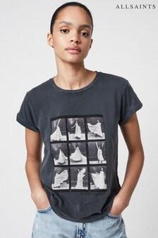 AllSaints Black Anna T-Shirt