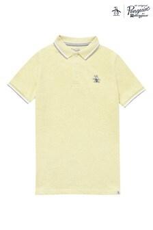 Koszulka polo Original Penguin® z kontrastową lamówką