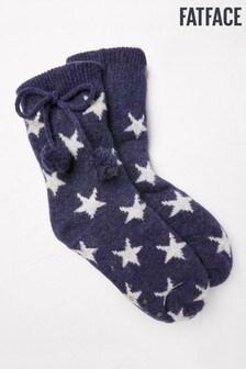 Chaussettes de nuit FatFaceà motif étoiles