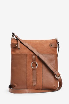 Borsa messenger in pelle