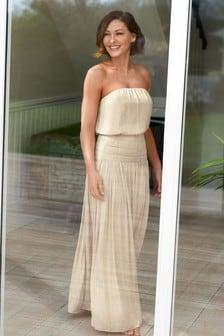 Emma Willis Satin Look Skirt