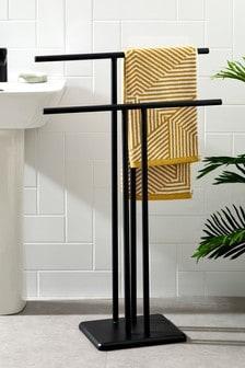 Double Freestanding Towel Rail