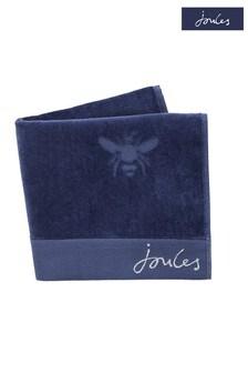 Joules Blue Botanical Bee Towel