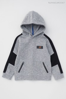 Angel & Rocket Grey Sporty Side Stripe Hoody