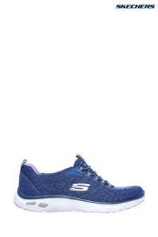 Skechers® Empire D'Lux Gepunktete Turnschuhe, Blau