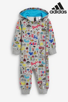 adidas Infant City Print Coverall
