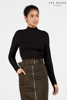 Ted Baker Stormix Long Sleeve Rib Top