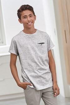 Pásikavé tričko s vreckom (3 – 16 rok.)