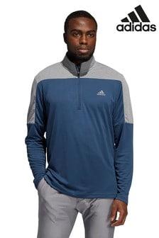 adidas Golf ライトウェイト クオーター ジップトップス