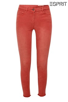 Esprit Orange Slim Trousers