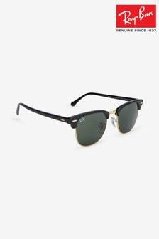 Ray-Ban® Black Clubmaster Sunglasses