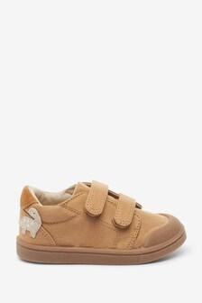 Туфли на липучке из пригодной для стирки ткани (Младшего возраста)