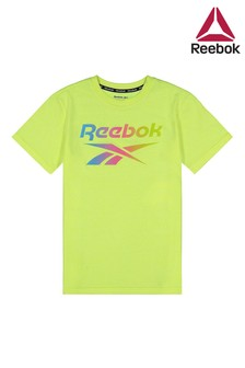 Koszulka z logo Reebok