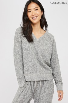 Accessorize Grey Marl Sweatshirt