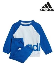 adidas Kleinkinder Essentials Set mit Rundhalstop und Jogginghose