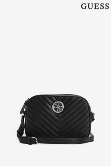 Guess Black Kamryn Cross Body Bag