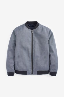 Куртка-бомбер в деловом стиле (3-16 лет)