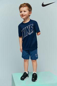 Komplet Nike z koszulką i szortami z kolekcji dla małych dzieci