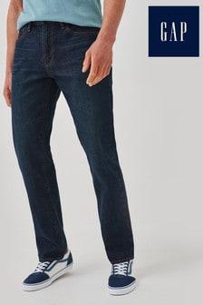 Gap Dark Blue Straight Leg Jeans