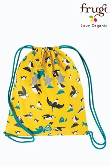 Frugi Puffin Print Recycled PE Or Swim Bag
