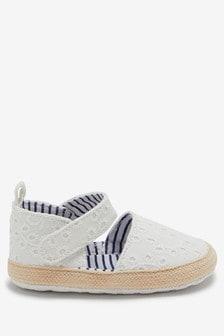 Mary Jane Pram Shoes (0-18mths)