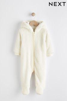 舒適刷毛小熊嬰兒裝 (0個月至2歲)