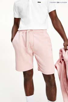 Tommy Hilfiger Pink Recycled Cotton Sweat Shorts