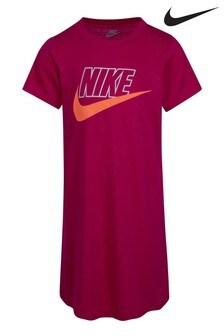 Nike Kleinkinder Futura T-Shirt-Kleid, Pink