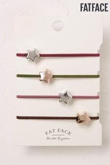 FatFace Green Star Elastic Hairband