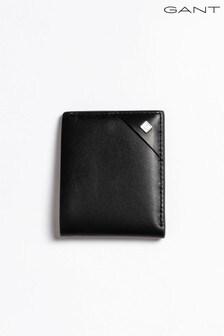Porte-monnaie en cuir GANT noir