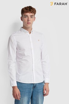 Farah Slim Fit Poplin Cotton Farley Shirt