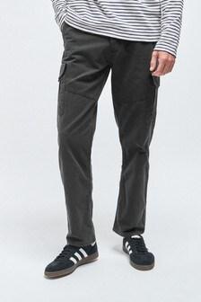 Premium Laundered Cargo Trousers