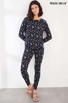 White Stuff Navy Lucy Jersey PJ Bottoms