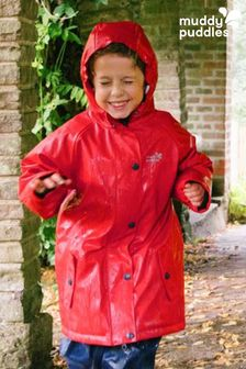 Красная водонепроницаемая утепленная курткаMuddy Puddles Puddleflex
