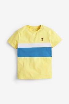 Piketové tričko s farebnými dielmi (3 – 16 rok.)
